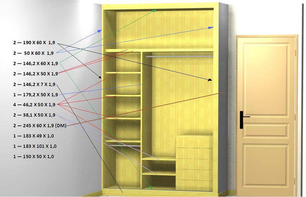 Como hacer un armario para ropa casero - Hacer un armario a medida ...