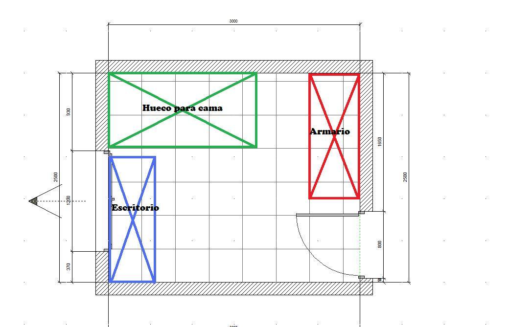 Medidas del armario - Medidas de un armario ...
