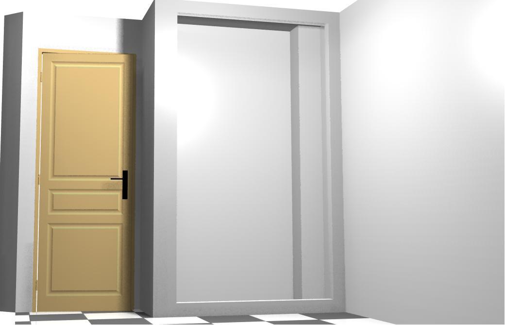 tengamos ya el espacio destinado al armario hecho de obra ya sea de ladrillo como pladur en esta lo que tenemos que with disear un armario empotrado