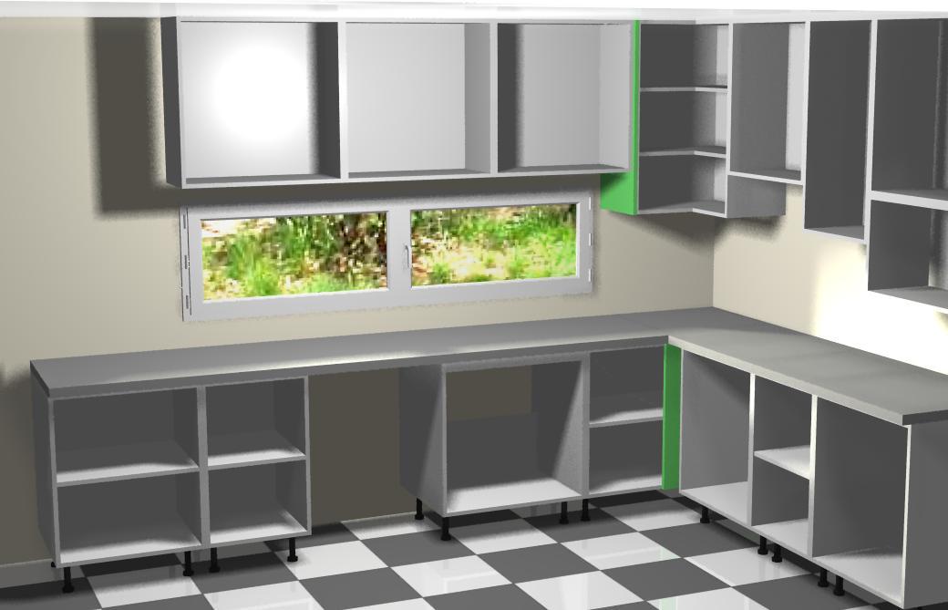casas cocinas mueble como colgar muebles de cocina