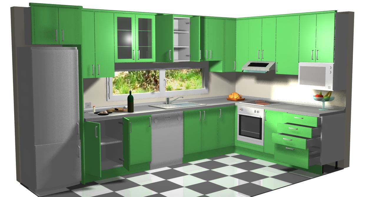 Introduccion a montar cocinas - Dibujos de cocina ...