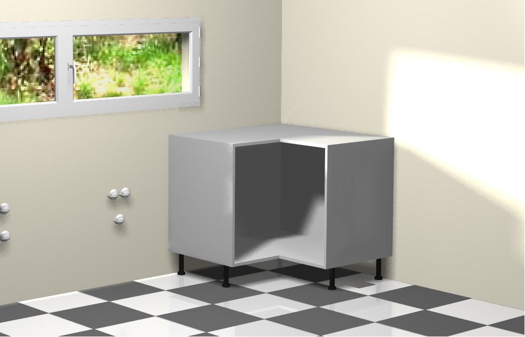Distribucion de los muebles de la cocina - Mueble rinconera cocina ...