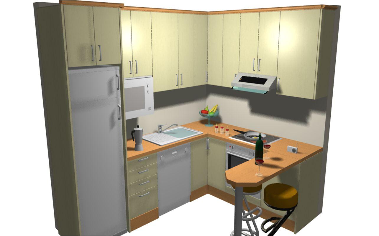 Segundo ejemplo presupuestos de cocina for Simulador de muebles de cocina online