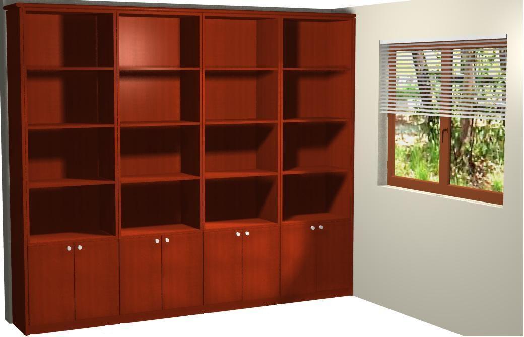 Como amueblar y hacer trabajos de bricolage en tu hogar for Fotos de librerias de salon